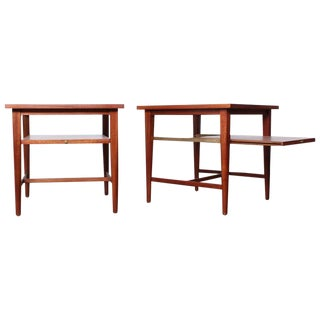 Pair of End Tables by Paul McCobb for Calvin