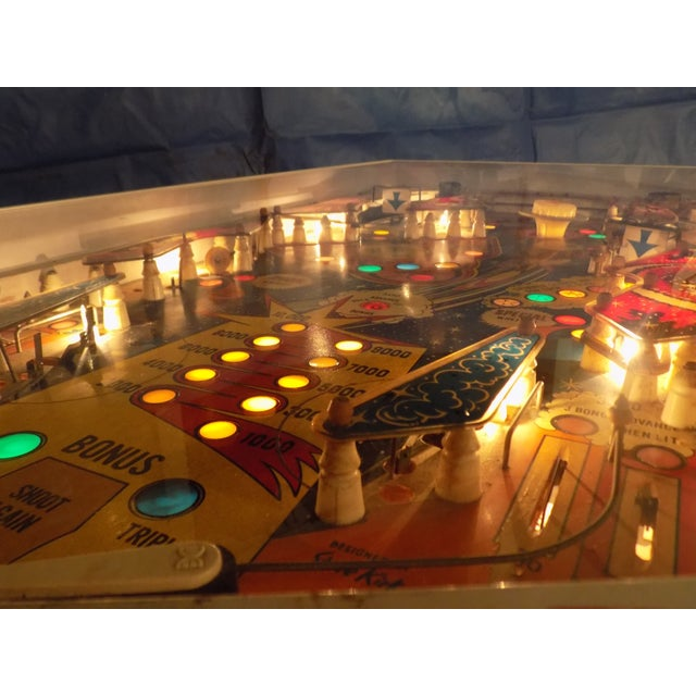 Mid-Century Style Lighted Pinball Coffee Table - Image 5 of 5