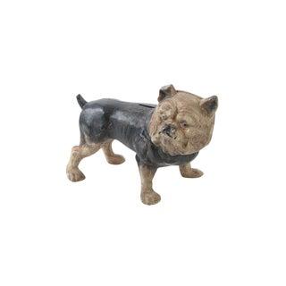 Antique Bull Dog Cast Iron Bank