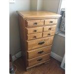 Image of Traditional Light Wood Dresser