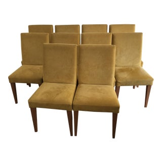 Frighetto Marigold Dining Chairs - Set of 10
