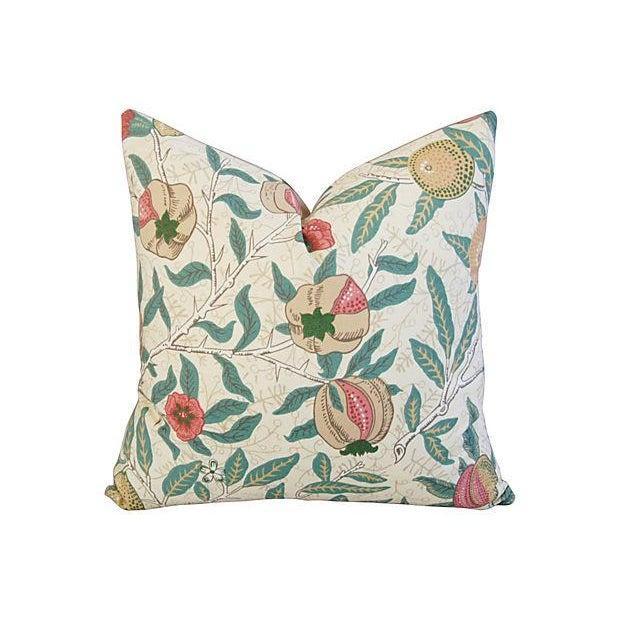 William Morris & Co Fruit Pillows - Pair - Image 3 of 7