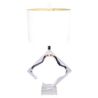 Original Van Teal Sculptural Table Lamp