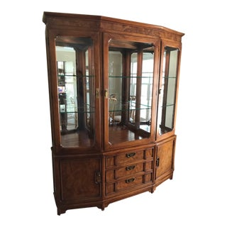 Thomasville Chinoiserie Style China Cabinet