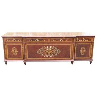 Louis XV Style Mahogany Inlaid Sideboard