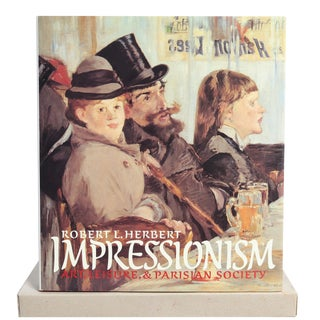"""Impressionism: Art, Leisure & Parisian Society"" Slipcase Book"