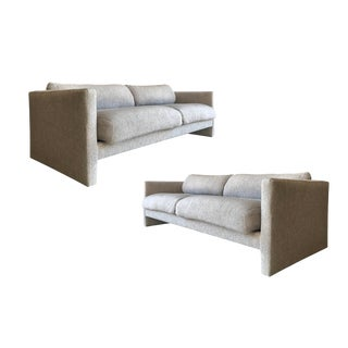 Milo Baughman Lounge Sofas - A Pair