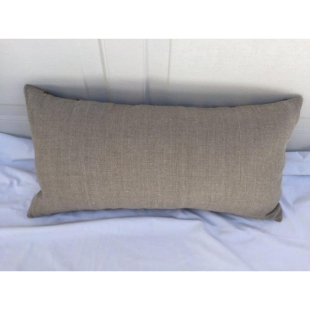 African Kuba Cloth Pillows- A Pair - Image 5 of 7