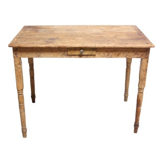 Rustic Farmhouse Primitive Pine Dining Table
