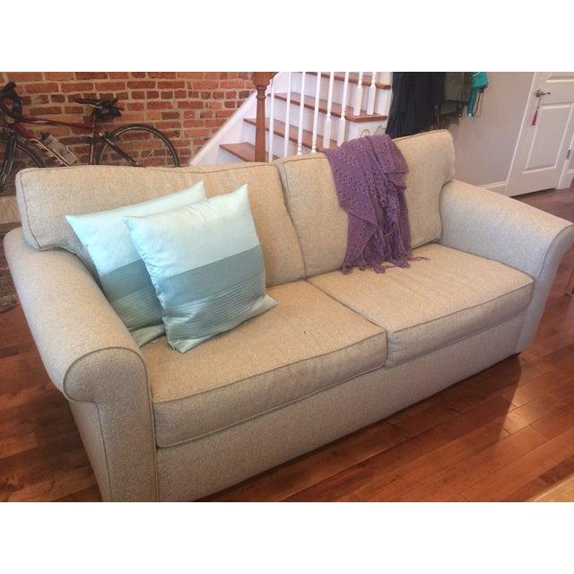Natural Twill Sleeper Sofa - Image 7 of 8