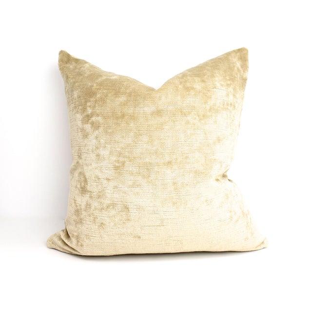 Image of Cut Velvet Damask Pillow