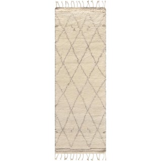 "Moroccan Silk & Wool Runner - 2' 7"" x 6'"