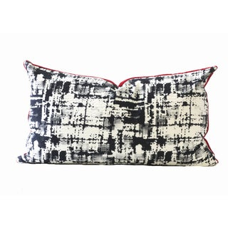 Black and White Designer Down Pillow