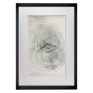 """Max Ernst """"Earthquakes"""" Limited Edition Lithograph"""