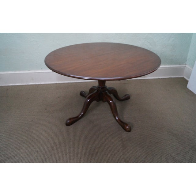 Image of Kittinger Solid Mahogany Extension Dining Table