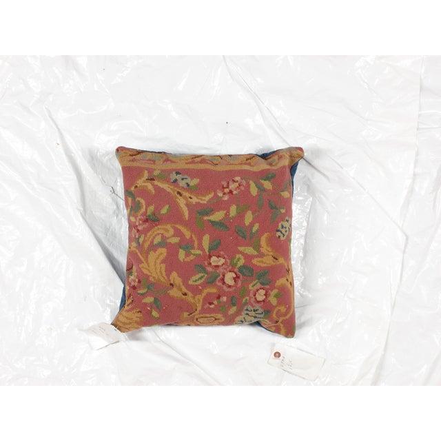 "Image of Leon Banilivi Aubusson Pillow - 1'6"" X 1'6"""