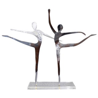 Scultpural Ballet Dancer Statue