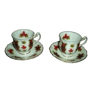 Royal Adderley Tea Cup & Saucer - A Pair