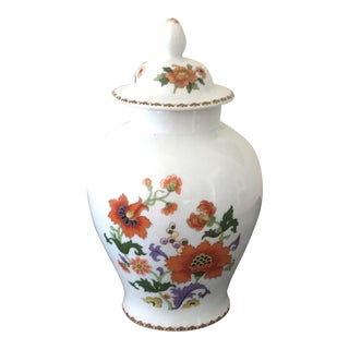 French Limoges Ginger Jar