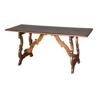 Antique 18th Century Italian Walnut Table