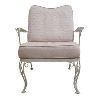 Vintage Iron Patio Lounge Chair