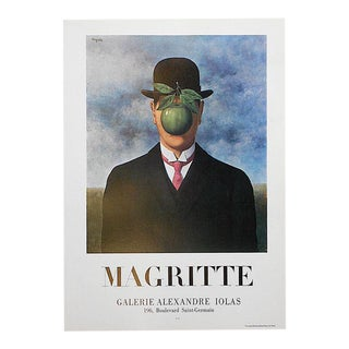Vintage Poster Lithograph - Rene Magritte