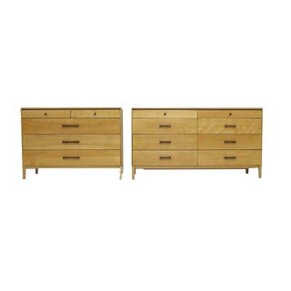 Perimeter Group by Paul McCobb Midcentury Dresser Set