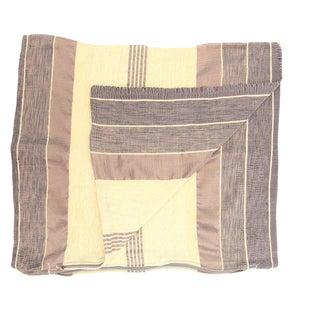 Moroccan Beige Sabra Pillowcase - A Pair