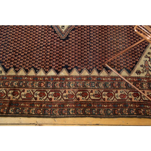 """Vintage Mission Malayer Square Rug - 5'5"""" x 6'7"""" - Image 6 of 10"""