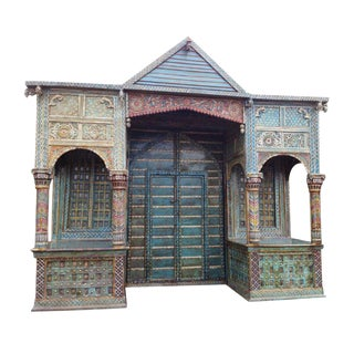 Traditional Rajasthan Haveli Entry Way Gate