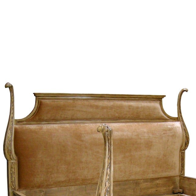 Customizable Carved Italian Venetian Bed by Randy Esada Designs - Image 2 of 5