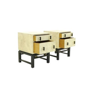 Pair of Nightstands Designed by Edward Wormley for Dunbar