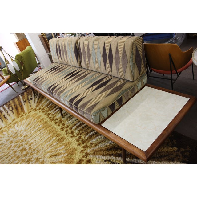 Mid Century Modern Adrian Pearsall Floating Sofa - Image 8 of 9
