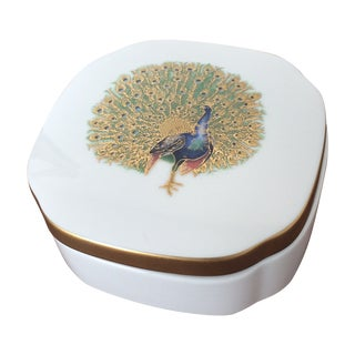 Villeroy and Boch Peacock China Box