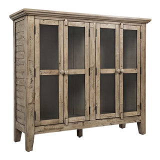 Rustic Vintage Wood Cabinet