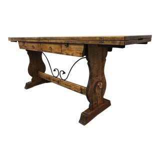 Swiss Alpine Folding Dining Table