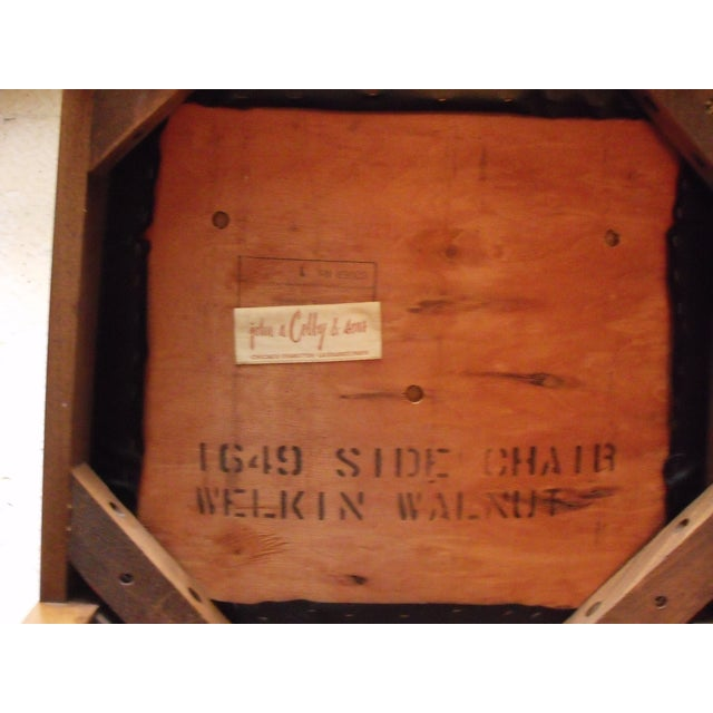 John A. Colby & Sons MCM Walnut Desk Chair - Image 8 of 8