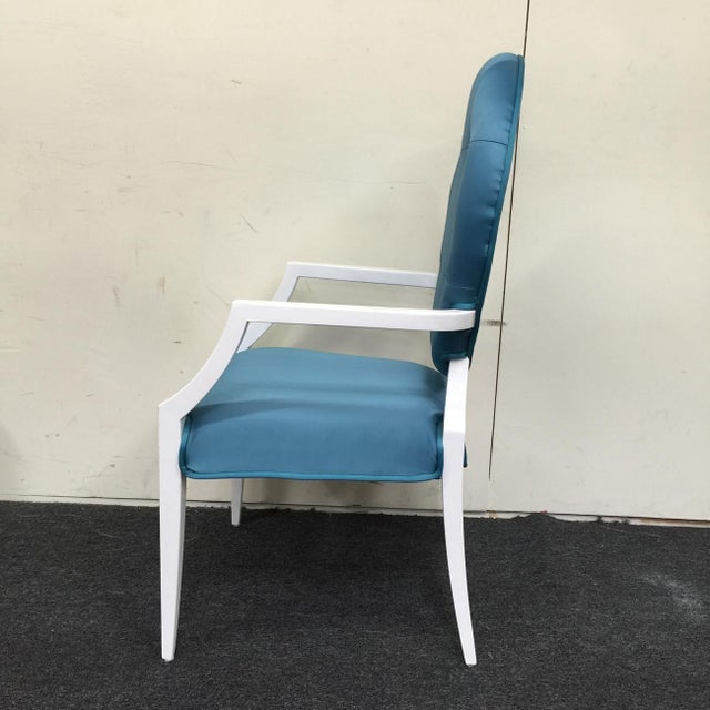 Modrest Versus Emma Fabric Turquoise Chair - Image 5 of 6