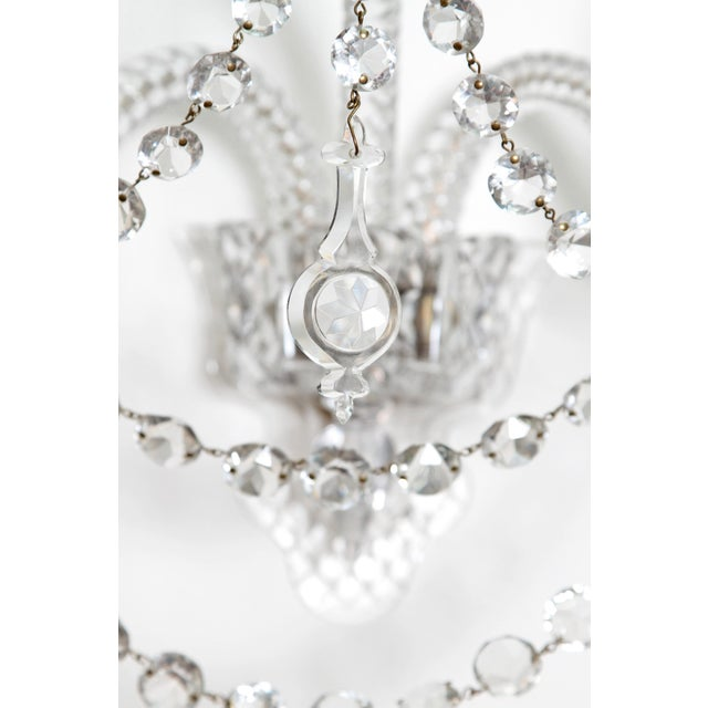 Two Pair of Exceptional F. & C. Osler Crystal Sconces - Image 8 of 11