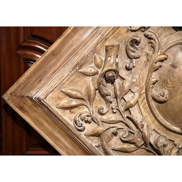 19th C. French Carved Plaque - Image 8 of 9