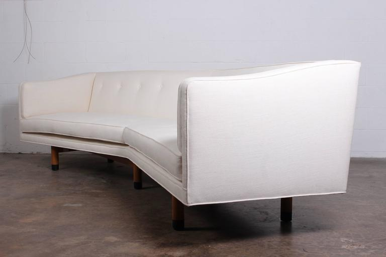 Angled Sofa By Edward Wormley For Dunbar   Image 7 Of 10
