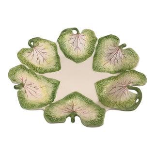 Vintage Italian Leaf Plate