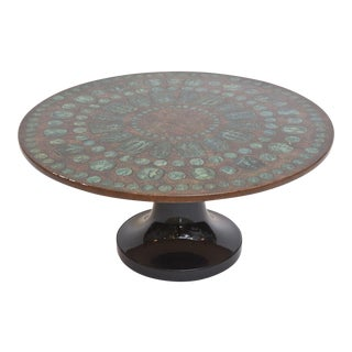 "Fornasetti ""Roman Medallion"" Low Table"