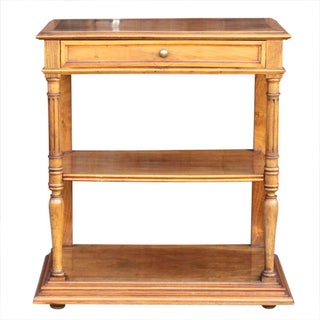 French 19th Century Walnut Etagere