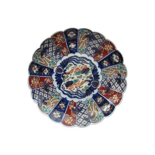 Antique Porcelain Japanese Imari Charger - Image 1 of 2