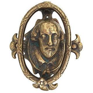 1960s Shakespeare Door Knocker