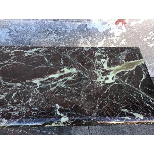 Marble Entryway Console Table - Image 6 of 6