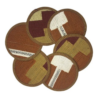 Kilim Coasters Set of 6 | Lale