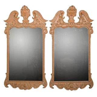French Empire-Style Mirrors - A Pair