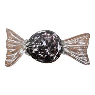 Purple Murano Glass Candy Object